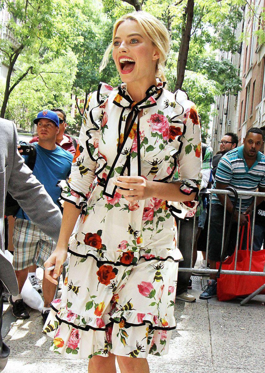 Лучезарная Марго Робби в образе от Gucci (ФОТО)