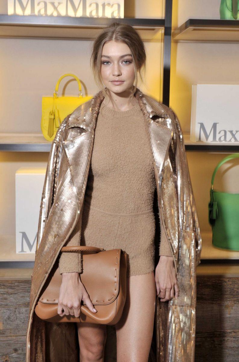 Образ дня: Джиджи Хадид на презентации сумки Max Mara BoBag в Милане (ФОТО)