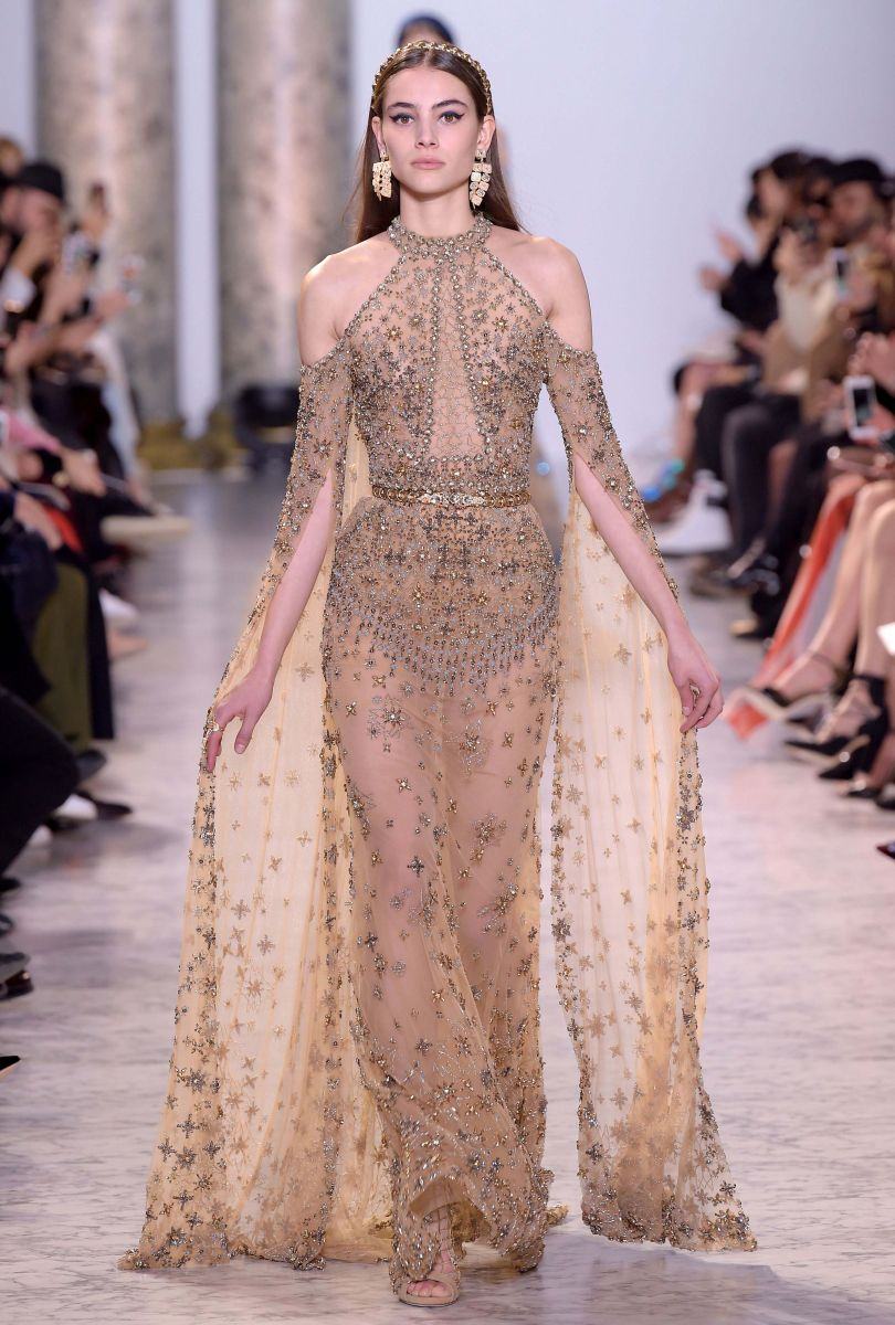 Breathtaking: the Best outfits of the Elie Saab show in Paris