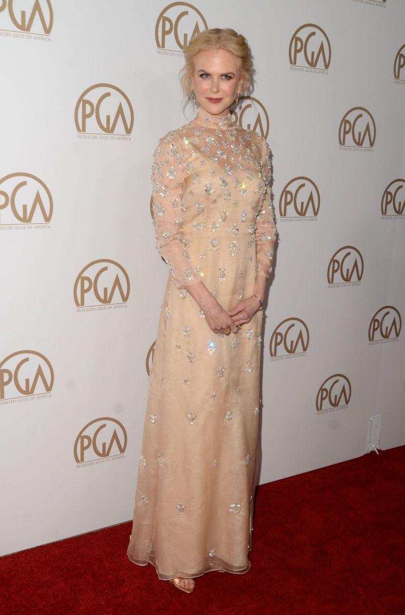 Образ дня: Николь Кидман в женственном наряде на бранче Variety Awards (ФОТО)