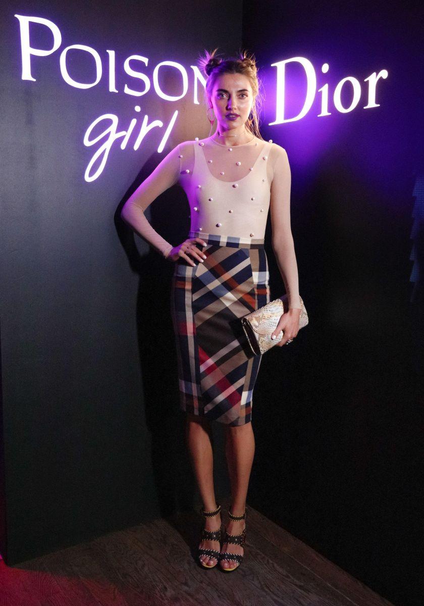Образ дня: Украинская модель Алина Байкова на вечеринке Dior в Лос-Анджелесе (ФОТО)