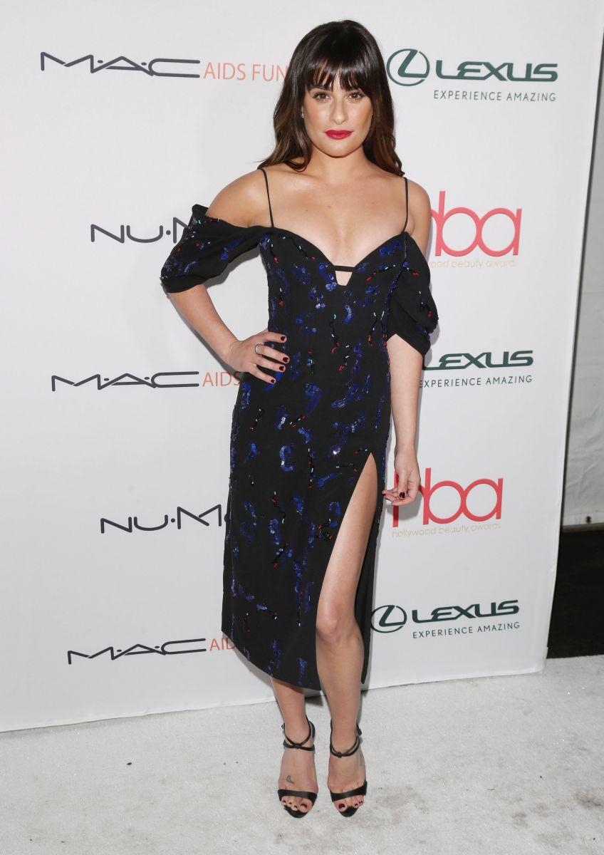 Образ дня: Лиа Мишель в вечернем платье J. Mendel на церемонии Hollywood Beauty Awards Лиа Мишель фото, Лиа Мишель наряд