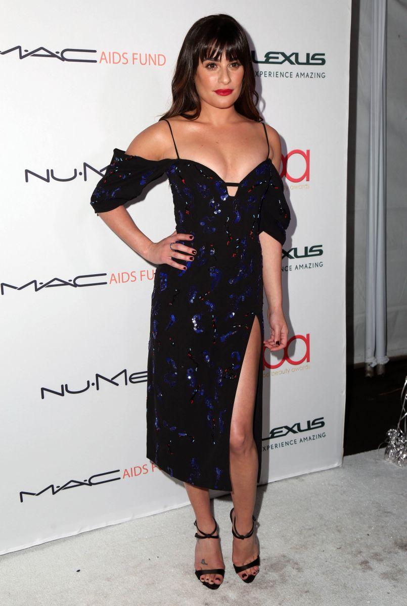 Образ дня: Лиа Мишель в вечернем платье J. Mendel на церемонии Hollywood Beauty Awards (ФОТО)