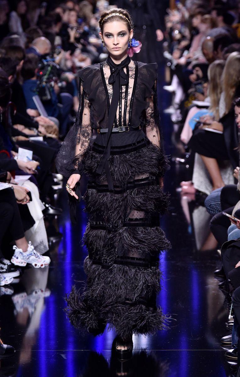 20 эффектных платьев с показа Elie Saab (ФОТО)