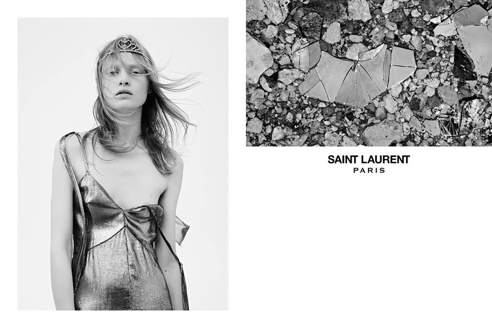 Дитя 90-х: Saint Laurent представили рекламную кампанию весна 2016