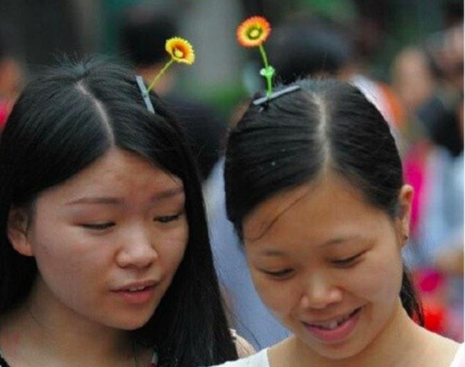 Самосад: зеленый росток, торчащий из головы — hair-хит в Азии