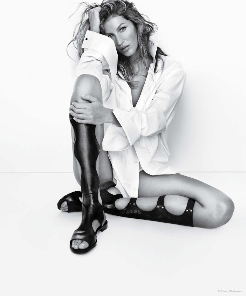 Идеальные ноги: Жизель Бундхен возбуждает зависть
