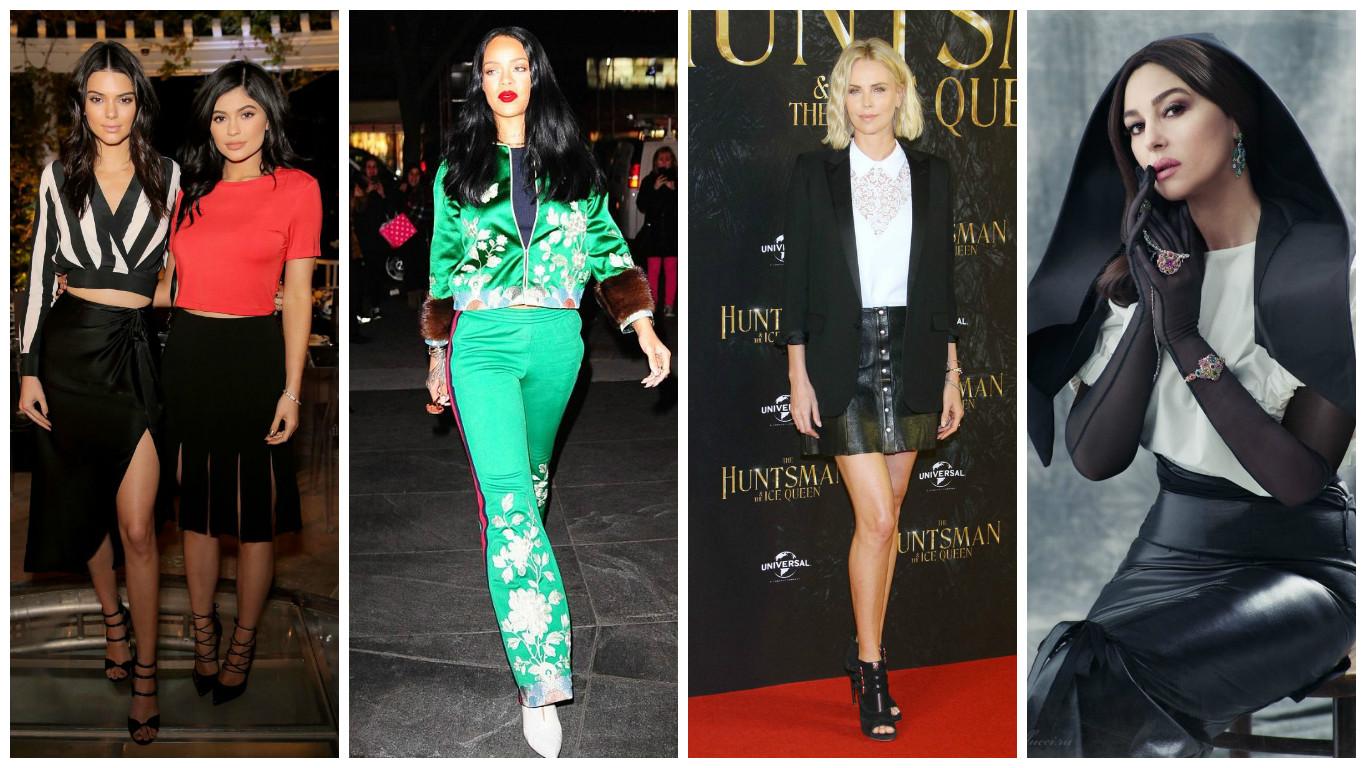 Самые стильные звезды недели: Мелисса Маккарти, Рианна, Моника Беллуччи, Тильда Суинтон, Кайли и Кендалл Дженнер