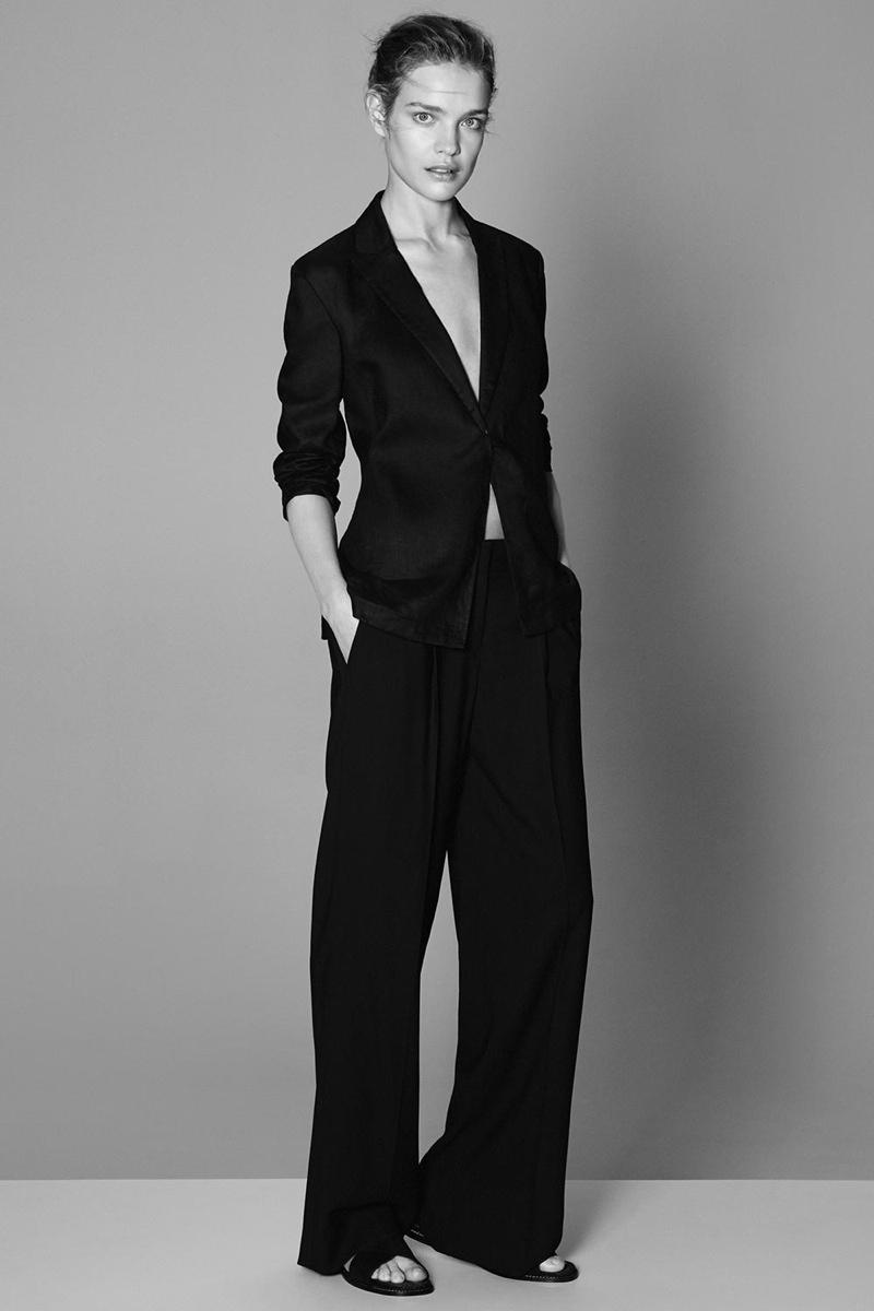 Крупным планом: Наталья Водянова демонстрирует идеальную кожу