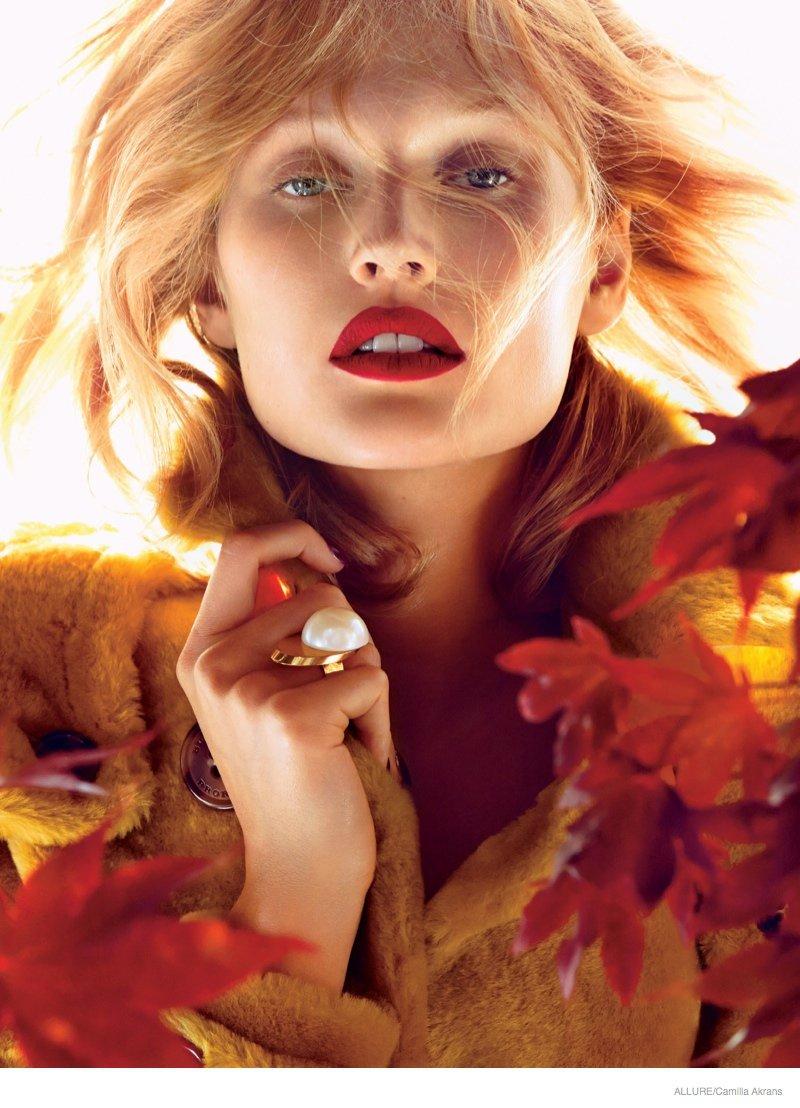 Винный макияж - соблазнительный тренд осени 2014