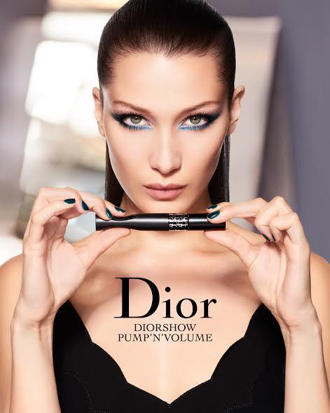 Белла Хадид Diorshow Pump & Volume фото