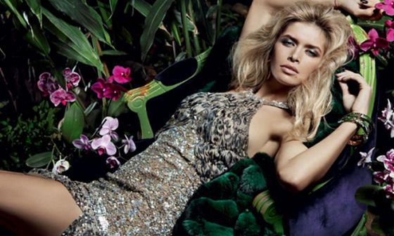 Дама в леопарде: Вера Брежнева соблазняет для российского Glamour