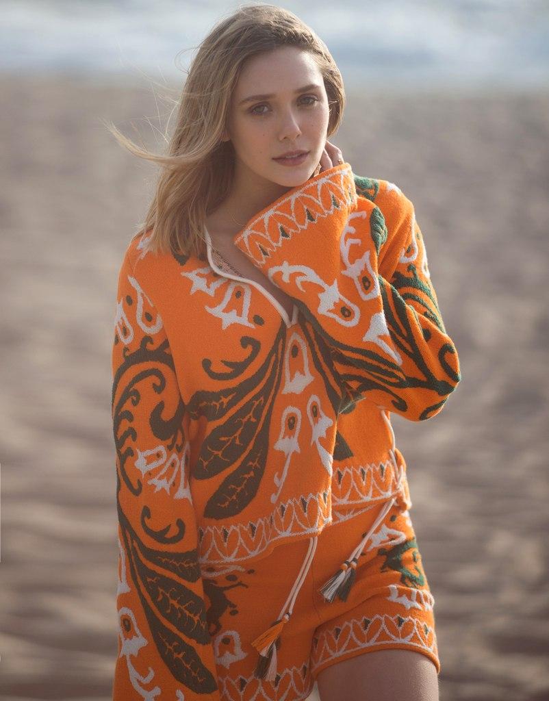 Девушка - мечта: очаровательная Элизабет Олсен украсила обложку журнала