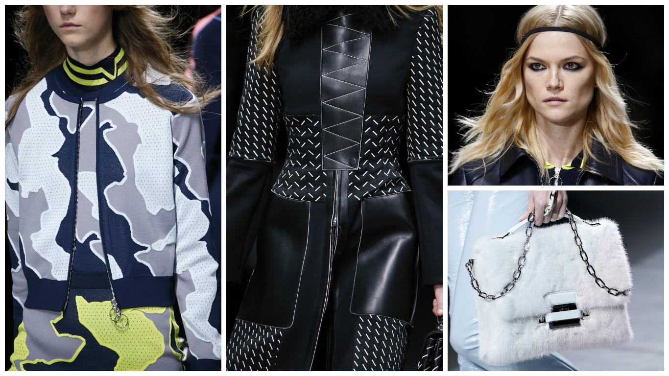 Versace осень-зима 2016 фото обзор коллекция