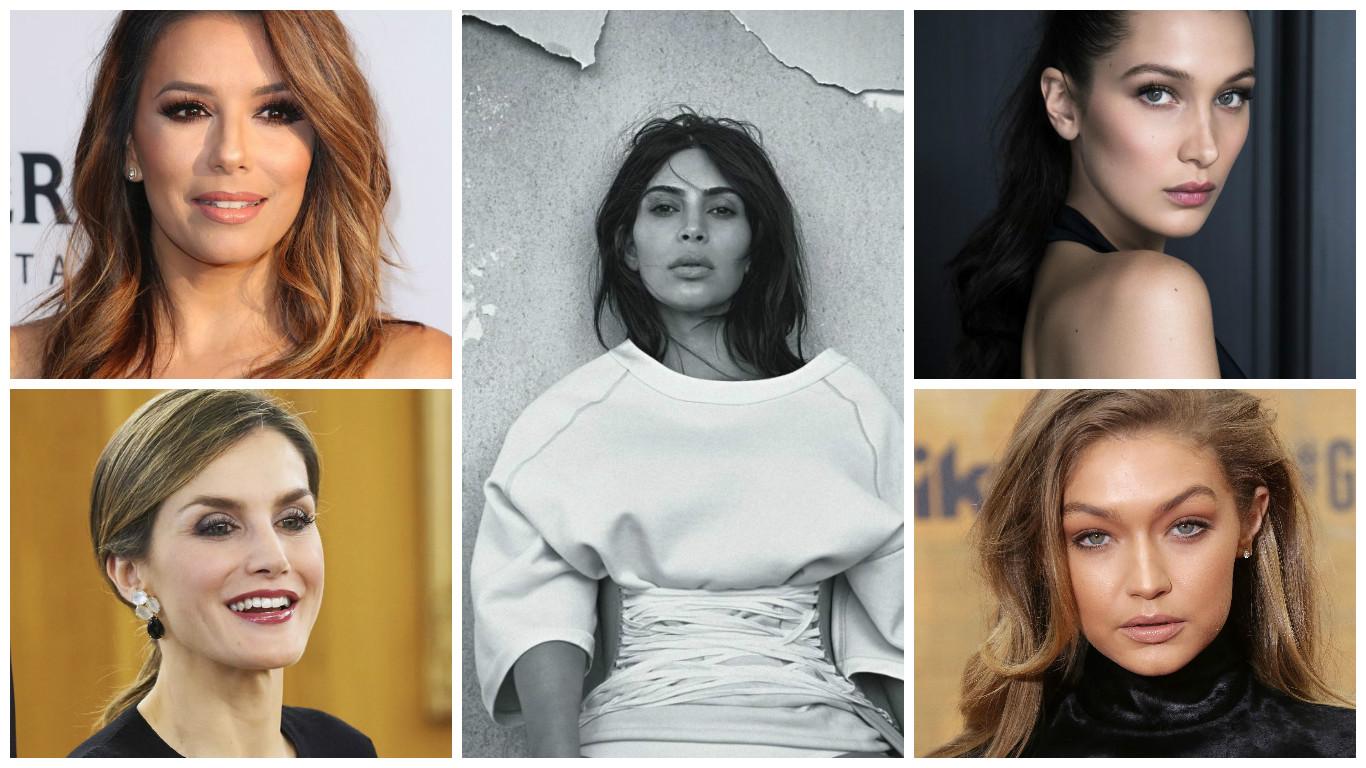 Лучшие beauty-образы недели: Ким Кардашьян, королева Летиция, Ева Лонгория, Белла Хадид, Ирина Шейк