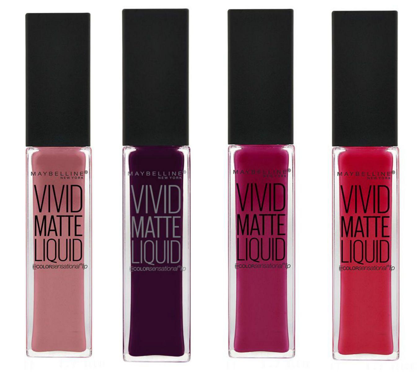 Матовый блеск для губ Vivid Matte Liquid