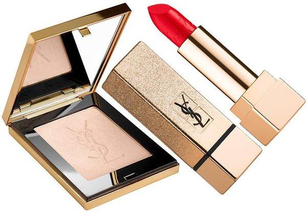 Yves Saint Laurent представил шикарную коллекцию праздничного макияжа (ФОТО)